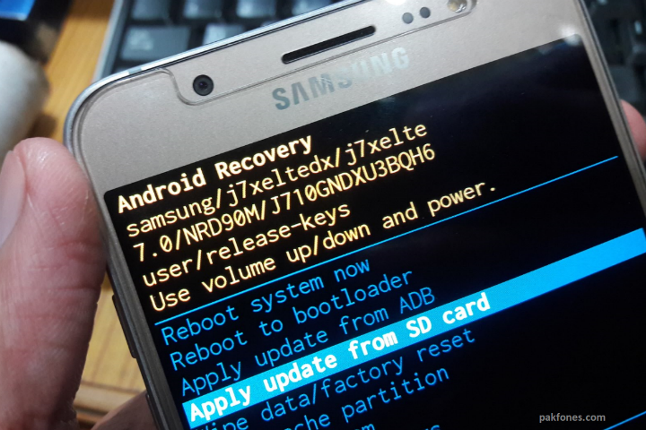How to Hard Reset Samsung Phones When Home Key Not Work