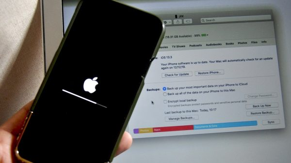 How to fix an iPhone stuck on Apple logo Without Losing Data